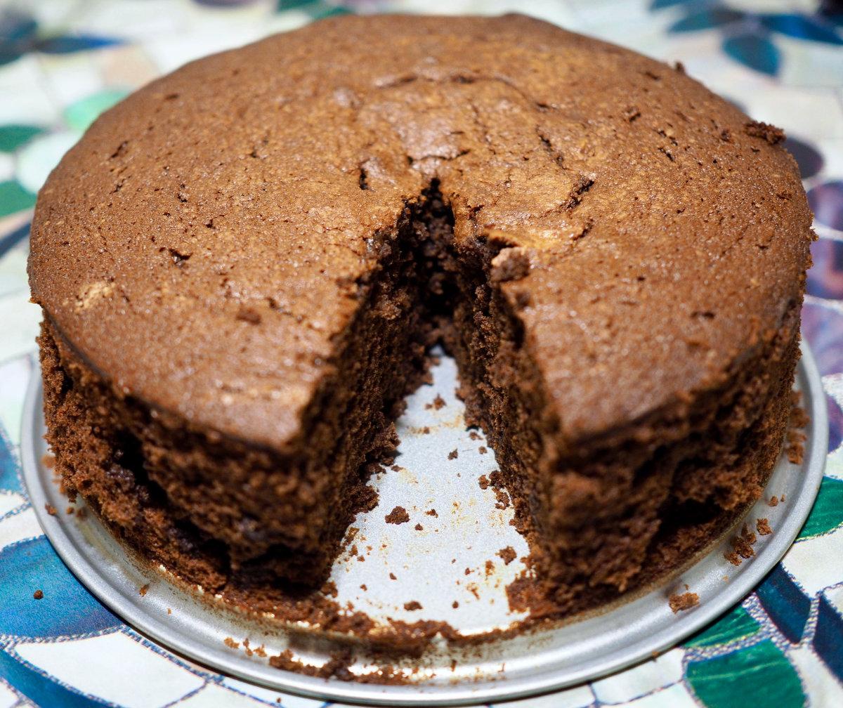 Chocorange cake