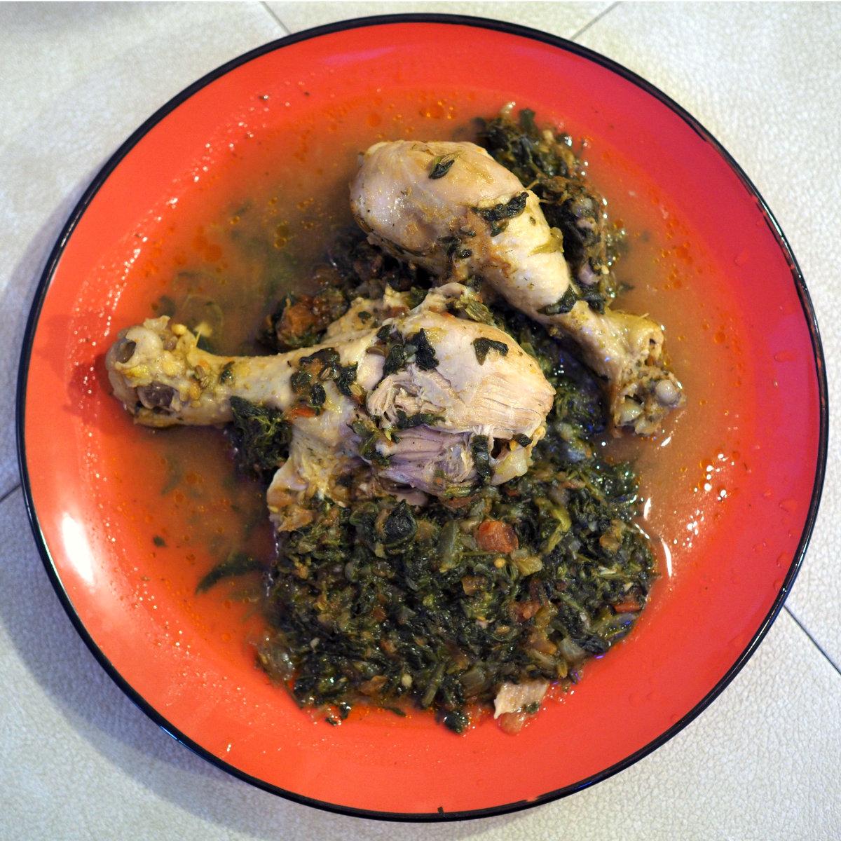 Spinach chicken